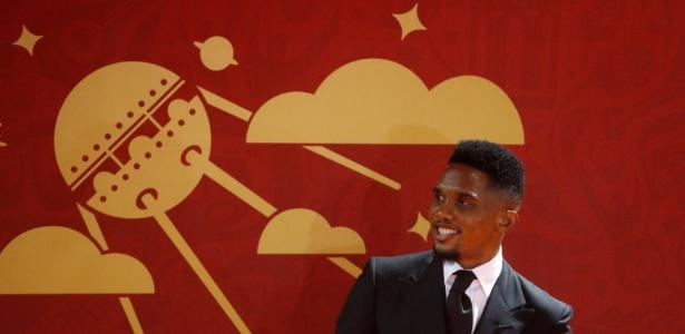 Samuel Eto'o, 36 anos, está no Antalyaspor e foi oferecido ao Vasco também