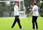 Fernando Diniz seguiu time B do Atlético-PR como auxiliar para Tiago Nunes - Miguel Locatelli/Site Oficial CAP