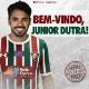 """Fluminense anuncia Júnior Dutra: """"Aumentar poder de fogo"""""""