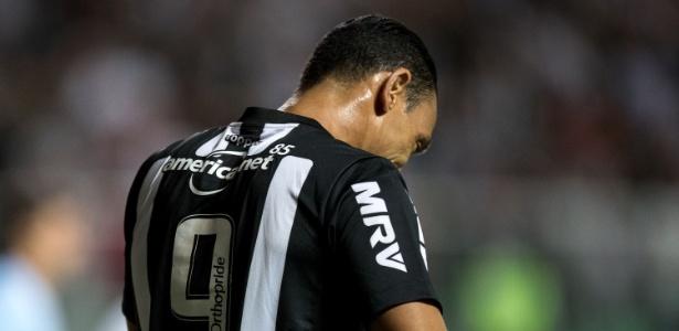 Ricardo Oliveira, do Atlético-MG, enfrenta o Vasco - Pedro Vale/AGIF