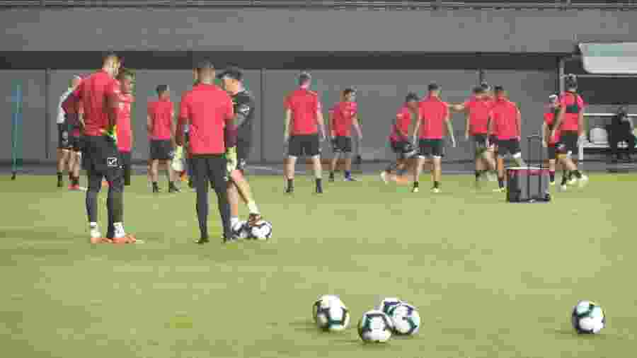 Venezuela treinou apenas duas vezes em Salvador antes de enfrentar a seleção brasileira pela 2ª rodada - Gabriel Carneiro/UOL