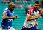 Bahia e Cruzeiro empatam em jogo com expulsão e chance clara de gol perdida - Jhony Pinto/AGIF