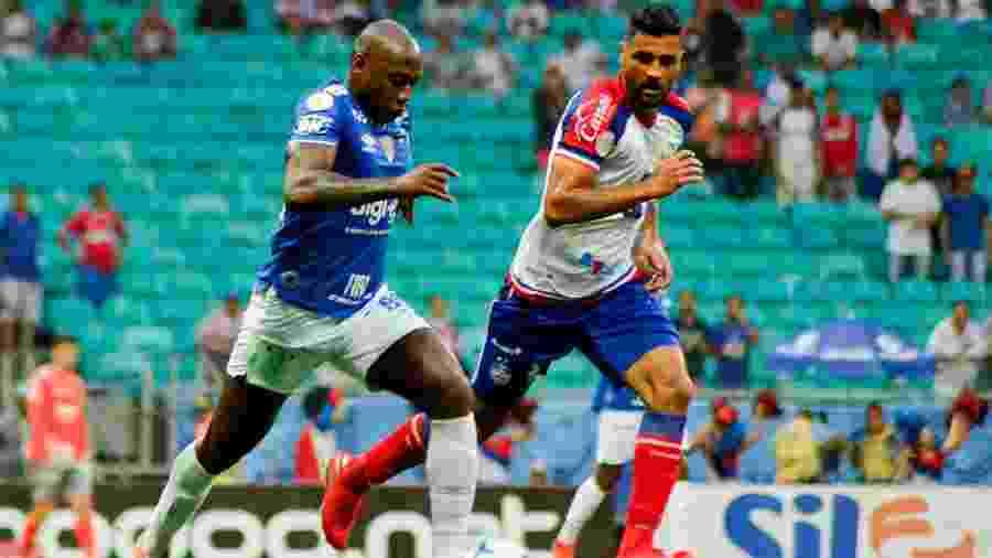 Na partida do turno, Cruzeiro ainda era comandado por Mano e equipes empataram sem gols na Fonte Nova - Jhony Pinto/AGIF