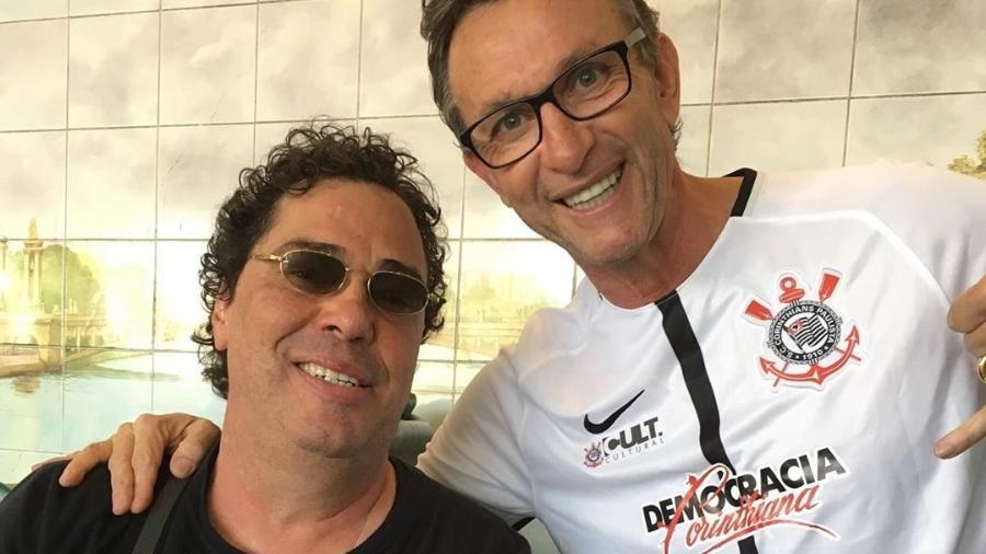 Casagrande trocou farpas com a ex-jogadora de vôlei Ana Paula Henkel e recebeu apoio de Neto - Reprodução/Instagram