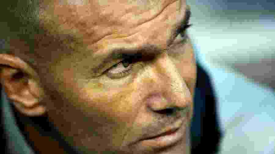 Zidane, técnico do Real Madrid - Johannes Eisele/AFP