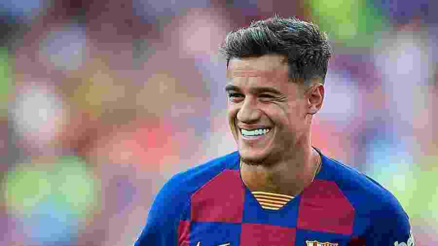 Philippe Coutinho em ação pelo Barcelona - Pablo Morano/MB Media/Getty Images