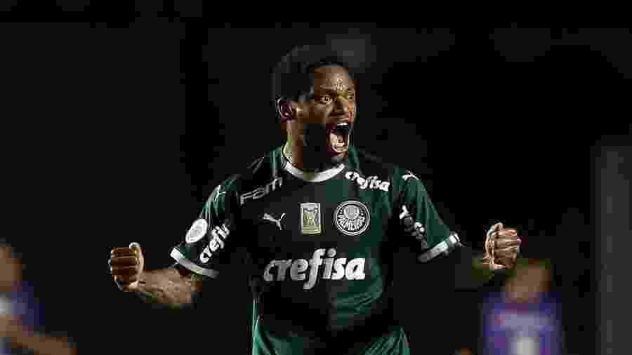 Luiz Adriano comemora gol do Palmeiras contra o Vasco - Cesar Greco/Ag. Palmeiras/Divulgação