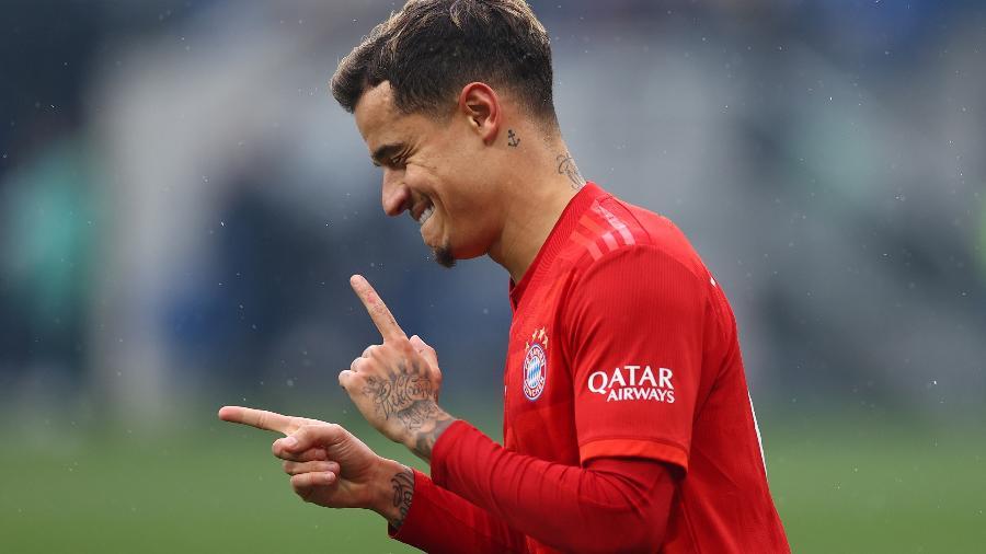 Philippe Coutinho não abriu negociação com qualquer clube no momento, diz agente - Kai Pfaffenbach/Reuters