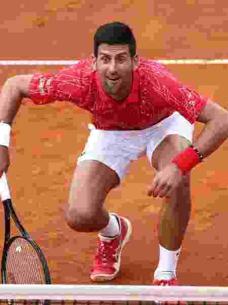 Novak Djokovic no Adria Tour 2020 - Reuters