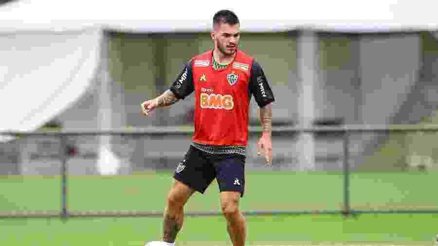 Nathan, meio-campista do Atlético-MG, foi adquirido em definitivo a pedido de Jorge Sampaoli - Pedro Souza/Atlético-MG