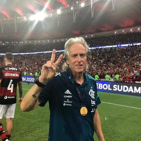 Jorge Jesus  - Alexandre Vidal/Flamengo