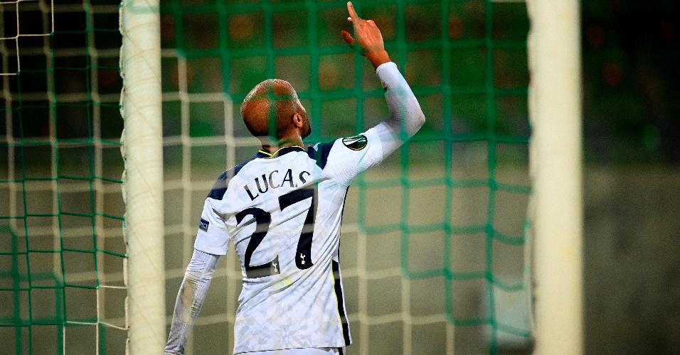 Lucas Moura marcou um gol e deu uma assistência contra o Ludogorets