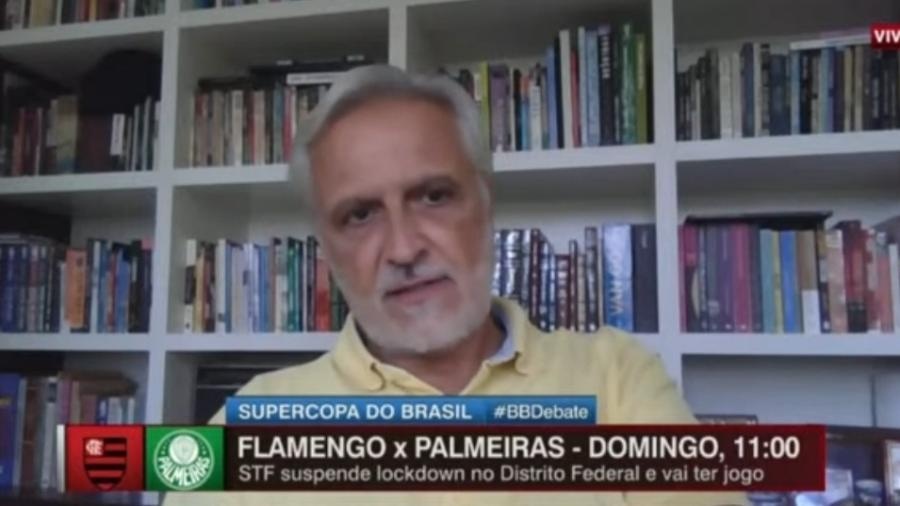 Sormani vê Flamengo favorito contra Palmeiras na Supercopa do Brasil - Reprodução/ESPN