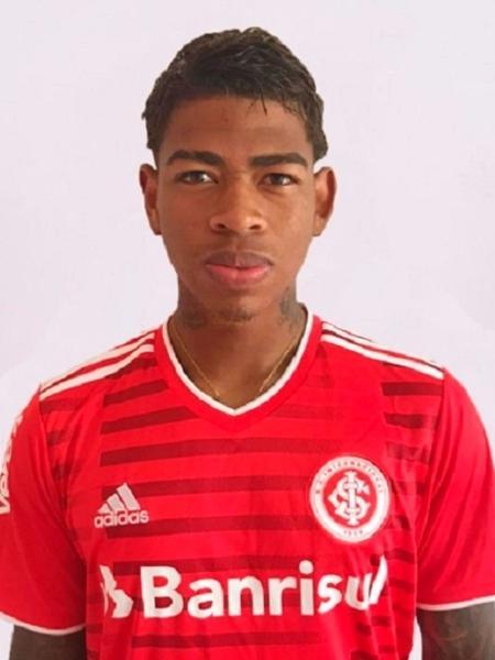 Juan Manuel Cuesta, atacante da base do Internacional, inscrito na Libertadores - Divulgação/Inter
