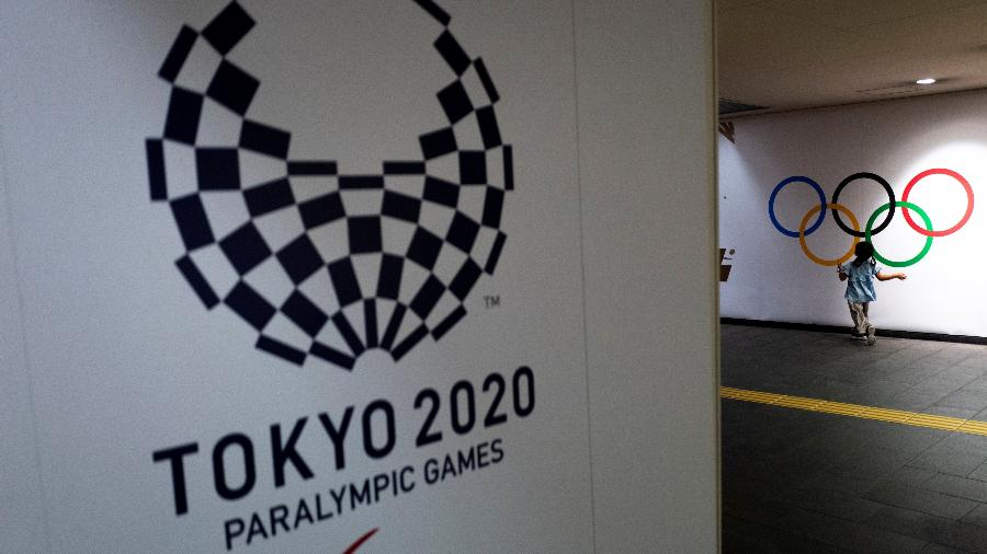 Logo dos Jogos Paralímpicos de Tóquio, que começam no dia 24 de agosto - Athit Perawongmetha/Reuters