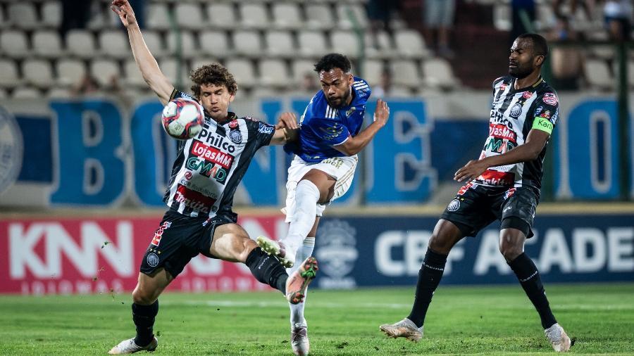 Raposa e Fantasma ficam só no empate na Arena do Jacaré, em Sete Lagoas, em Minas Gerais - Bruno Haddad/Cruzeiro