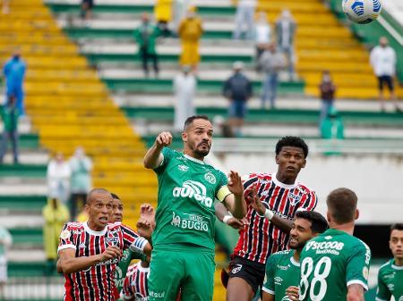 São Paulo sai na frente, mas cede empate e tropeça na lanterna Chapecoense  - 03/10/2021 - UOL Esporte
