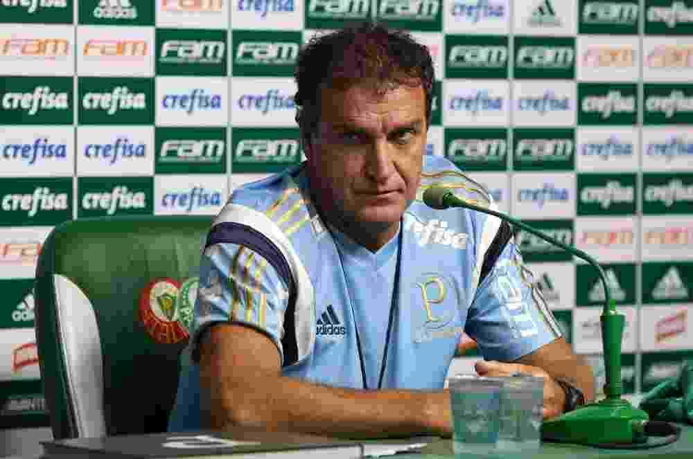 Cuca chega ao Palmeiras com o desafio de levar o clube alviverde ao bicampeonato da Libertadores - Cesar Greco/Ag Palmeiras