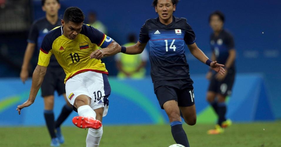 Seleção japonesa reage e empata partida contra Colômbia