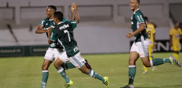 Fernando, Iacovelli e Léo Passos marcaram os gols do Palmeiras contra o Paranoá