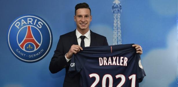 Draxler chega ao PSG; alemãao ajudou o clube francês a ser líder de gastos na janela