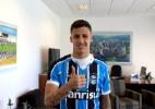 Grêmio anuncia contratação de atacante Beto da Silva, ex-PSV (Foto: Cristiano Oliveski/Grêmio)