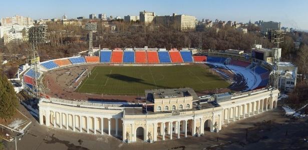 Estádio Lenin, casa do SKA Khabarovsk