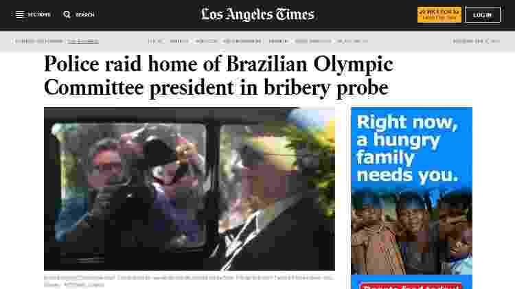 Reprodução/Los Angeles Times