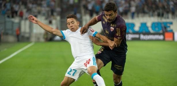 Maxime Lopez em ação pelo Marselha