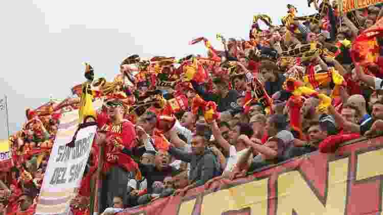 O Benevento vai mal das pernas, mas não é por falta de torcida - Maurizio Lagana/Getty Images - Maurizio Lagana/Getty Images
