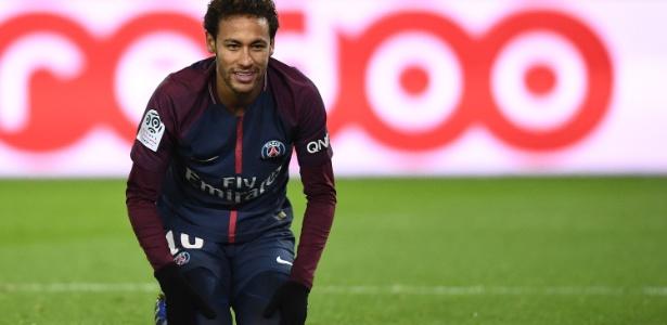 Neymar anotou dois gols na vitória do PSG sobre o Montpellier neste sábado