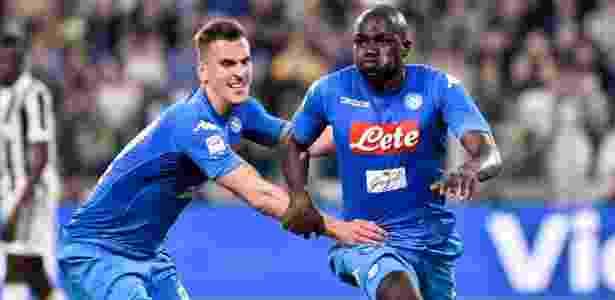 Desde 2014 no Napoli, Kalidou Koulibaly tem 174 jogos pela equipe - Giuseppe Maffia/NurPhoto via Getty Images