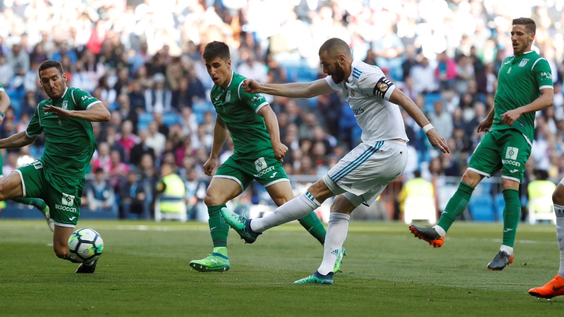 Reserva contra o Bayern, Benzema é titular na partida diante do Leganés