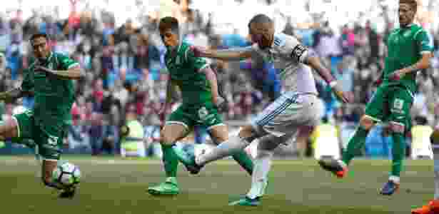 Reserva contra o Bayern, Benzema é titular na partida diante do Leganés - REUTERS - REUTERS