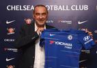 Sarri elogia Chelsea e se anima para enfrentar grandes técnicos do Inglês - divulgação/Chelsea