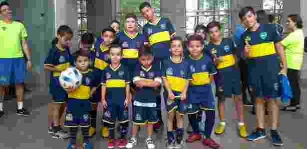 Jogadores escolinha Boca Juniors - UOL Esporte - UOL Esporte