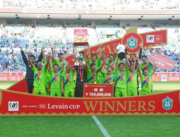 Shonan Bellmare ganhou a Copa da J-League e vai enfrentar o Athletico na Copa Suruga, em agosto - Facebook Shonan Bellmare