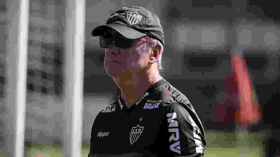 Levir Culpi, treinador do Atlético-MG, elogia Alerrandro por momento - Bruno Cantini/Atlético-MG