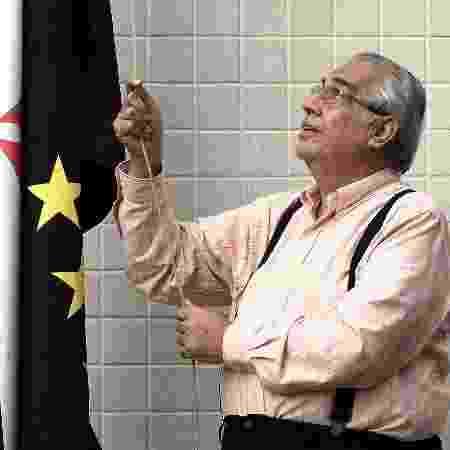 Eurico Miranda na sede do Vasco - Julio Cesar Guimaraes/UOL