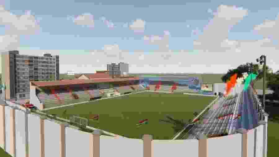 Projeto de revitalização das Laranjeiras, estádio do Fluminense - Divulgação