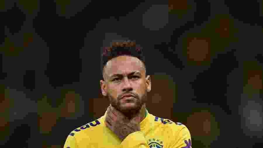 Neymar está envolvido em acusação de estupro no Brasil - Andre Borges/AGIF