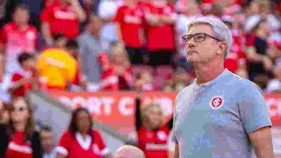 Odair Hellmann deve ter confirmada demissão do Inter após reunião da direção do clube - Pérsio Ciulla | TXT Sports