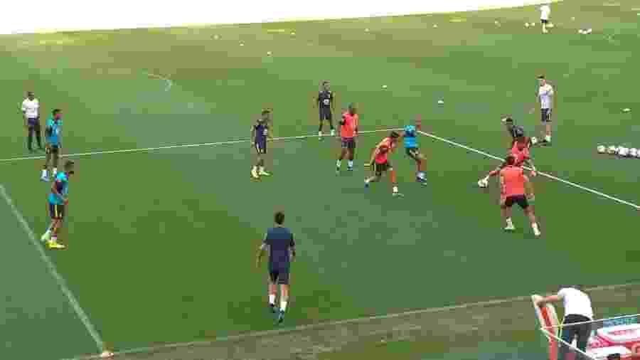 Brasil treina em Los Angeles antes de amistoso contra o Peru - Bruno Grossi/UOL