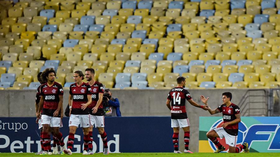 Jogo Flamengo x Boavista na última quarta-feira (1) selou decisão da Globo de romper contrato de transmissão do Carioca - Thiago Ribeiro/AGIF