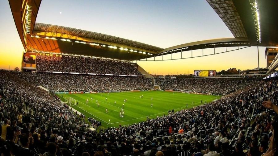 O estádio do Corinthians tem capacidade para 46 mil pessoas - Divulgação