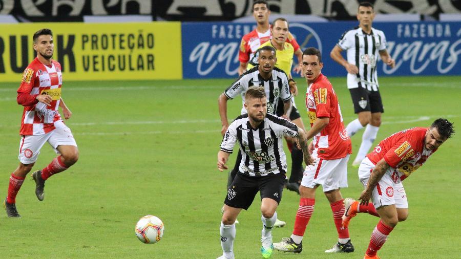 Atlético-MG venceu o Tombense de virada na partida de ida da final do Campeonato Mineiro - Fernando Moreno/AGIF