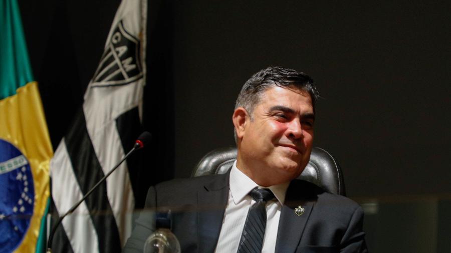 Adoro ver o Flamengo se lascando, diz Presidente do Atlético-MG
