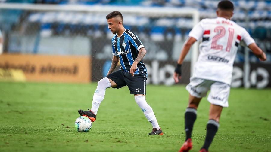 Matheus Henrique está no radar do Sassuolo, da Itália, e pode ser negociado em breve - Lucas Uebel/Grêmio