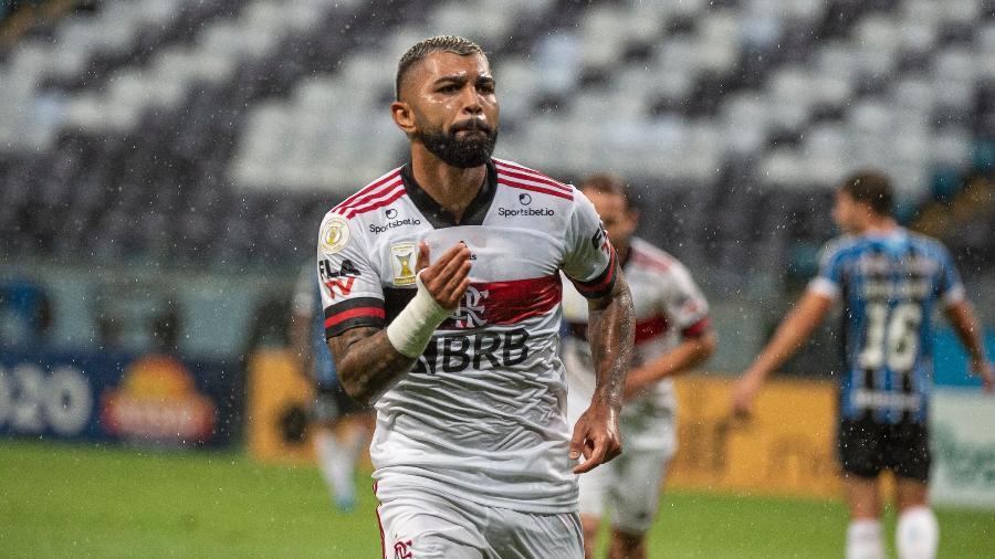 Gabigol ainda lidera Flamengo em gols e assistências