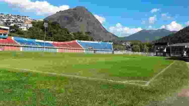 Estádio Eduardo Guinle, casa do Friburguense - Vinicius Gastin/Ascom Friburguense - Vinicius Gastin/Ascom Friburguense